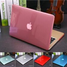 Crystal Transparent Clear Hard Cover Case for Macbook 12 Air Pro Retina 11 13 15