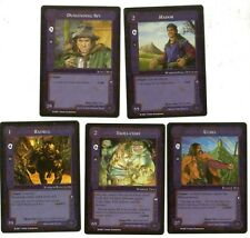 MECCG Lidless Eye Uncommon Agent/Character Cards middle earth mele ccg tcg
