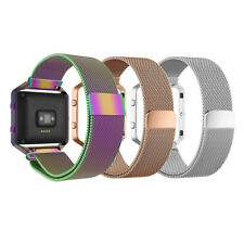 Metal Magnetic Milanese Stainless Watch Band Strap for Fitbit Blaze Tracker
