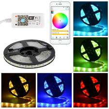 5M 150/300 LED SMD5050 RGBW WIFI Remote Control Flexible Strip Light Waterproof