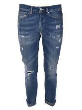 Jeans strappi uomo Dondup George UP232 DS107U S22G800 denim strappi