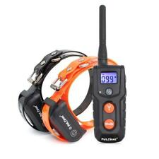 Dog Training Collar Waterproof Rechargeable Electric Shock Remote Beep Vibrating