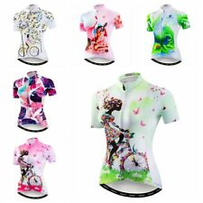 1c867f640 New Women s Cycling Jersey Summer Bike T-Shirt Short Sleeve Clothing Bicycle  Top