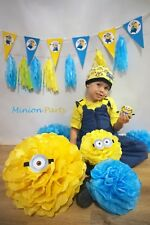 Minions Party Despicable Me Children's Birthday Decorations