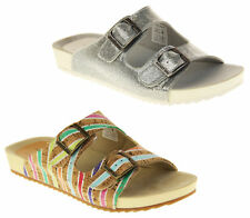 Ladies Rocket Dog Holiday Mule Sandals with Double Buckle Straps size 4 5
