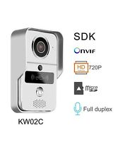 720P HD Smart Wifi Wireless Video Doorbell With 7 RFID cards and Accessories
