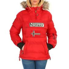 Geographical Norway Abbigliamento Donna Giacca Rosso 87349 BDT