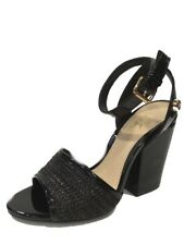 Scarpe Donna Blu Byblos 672122 Sandalo Decolte Simple Nero -PREZZO OUTLET -
