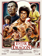 BRUCE LEE - ENTER THE DRAGON Theatrical Poster (A1 - A2)