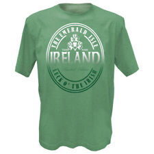 93596ff78 Green Grindle Designed T-Shirt With Ireland The Emerald Isle Luck O' The  Irish