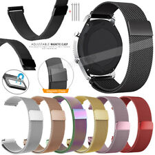 Magnetic Milanese Stainless Steel Bracelet Wrist Watch Band Strap 18mm 20mm 22mm