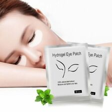 1-100 Pairs Eyelash Extensions Patch Under Eye Thin LINT FREE Lash Hydrogel Pads