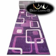 CHEMIN DE TABLE Tapis, FOCUS F240 D.violet, moderne, Escaliers largeur 70 cm -