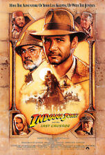 INDIANA JONES AND THE LAST CRUSADE Theatrical  Poster (A1 - A2)