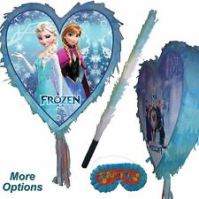 Frozen Pinata set Girls Smash Party anna elsa Snow Princess Heart UK Sky Queen