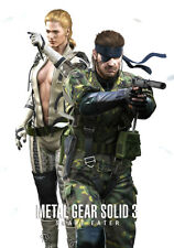 METAL GEAR SOLID 3: SNAKE EATER Poster (A1 - A2)