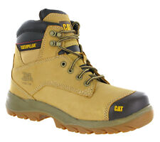 Cat Spiro Safety Work Boots - Various Sizes - Honey Colour - New - FREE SHIPPING
