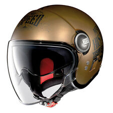 NOLAN Casco Jet N21 VISOR MOTO GP LEGENDS 31 Scratched Flat Copper