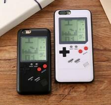 Phone Case Back Cover Gel Stand Gameboy Tetris Player For iPhone 6 7 8 Plus X UK