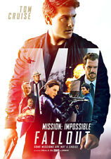 MISION IMPOSSIBLE: FALLOUT Poster (A1 - A2)