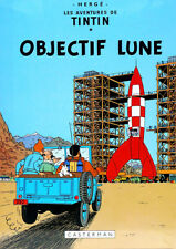 TINTIN: OBJECTIF LUNE Poster (A1 - A2)