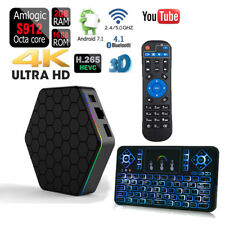 T95z Plus 16GB Dual Wi-Fi 5G Amlogic S912 Android 7.1 Bluetooth 1080p 4K Tv Box