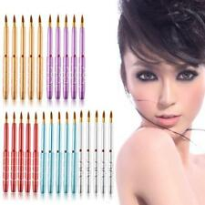 Retractable Portable Lip Eyeliner Lipstick Brush Makeup Cosmetic Beauty Tool Kit