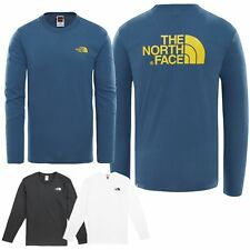 The North Face Homme à Manches Longues Facile T-Shirt Shirt à S M L XL XXL Neuf