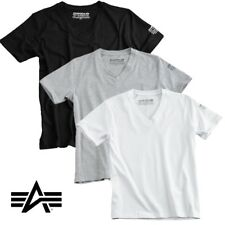 Alpha Industries Camiseta Bodywear V-Neck Interior Hombre S M L XL XXL