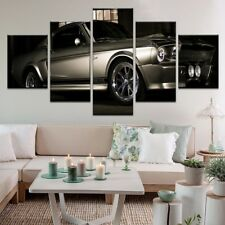 Gone In 60 Seconds 1967 Mustang Shelby GT500 Eleanor 5 Panel Canvas Print Wall A