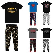 MENS CHARACTER PYJAMAS BOTTOMS NOVELTY LOUNGE WEAR PANTS PYJAMA SET SIZE S-XL