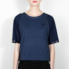 Nike Womens Gym Sports T shirt Premium Pack Top - Obsidian Heather T shirt Top