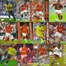 MATCH football magazine retro player picture poster (Soccer) Arsenal - VARIOUS