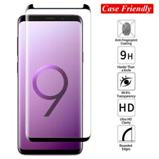 6D Case Friendly Screen Protector for SAMSUNG Note 9/S8 S9Plus Temper Glass Film