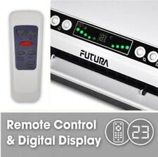 Electric 2KW Remote Control Over Door Fan Heater Warm Cold Air LED Screen