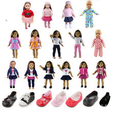Cute Outfit Clothes for 18'' American Girl Doll Our Generation My Life Doll Shoe