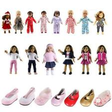 Clothes For 18'' American Girl Our Generation Dolls Pajamas Dress Shoes Outfits
