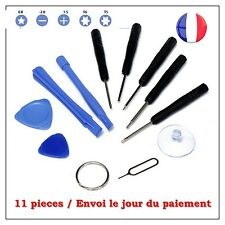 KIT OUTILS TOURNEVIS COMPLET IPHONE 5S DEMONTAGE REPARATION- 11 PCES