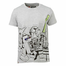 Lego Wear Camiseta Niños Star Wars Gris Talla 104 ,110 ,116 ,122 ,128 ,134 ,140