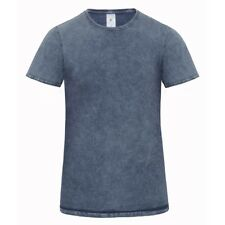 T-Shirt Uomo B&C BCTMD72 DENIM EDITING MEN 100% COTONE