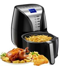 Air Fryer Oven Oilless Deep Cookers Digital LCD Screen Auto Off Memory Functions