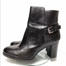 LAUREN by Ralph Lauren Womens cabrey bo Leather Closed Toe Ankle Fashion Boots