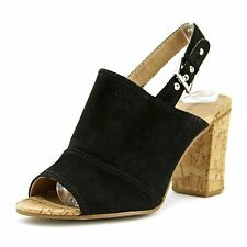 Nine West Womens MILYONAROL Leather Open Toe Casual Ankle Strap Sandals