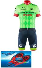 """Cannondale Drapac 2017 Cycling Pro Bike Set 9d Gel Pad """"FAST DELIVERY"""""""