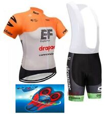 """2018 TEAM EF Cannondale Cycling Pro Sets 9d Gel Pad ORANGE """"FAST DELIVERY"""""""