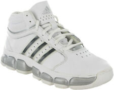 Adidas Hi-Top Fashion Womens Casual Skate Hi-Top Lace Up White Trainers Shoes