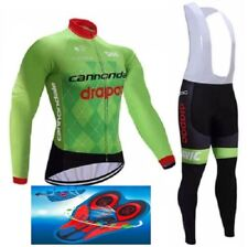 """TEAM CANNONDALE DRAPAC cycling winter thermal set 9D GEL PAD """"FAST DELIVERY"""""""