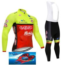 """WILIER TRIESTINA 2018 cycling winter thermal set 9D GEL PAD """"FAST DELIVERY"""""""
