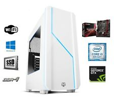 GAMING PC ORDENADOR INTEL i3 8100/8350K GTX 1050/TI/1060/2/3/4/6 GB DDR4 8/16 GB