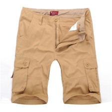 Mens Casual Cargo Shorts Color & Size Options